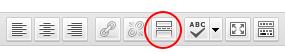кнопка далее в визуальном редакторе