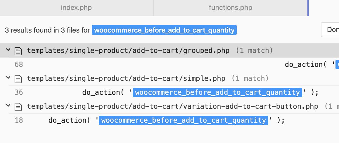 хук woocommerce_before_add_to_cart_quantity в файлах WooCommerce