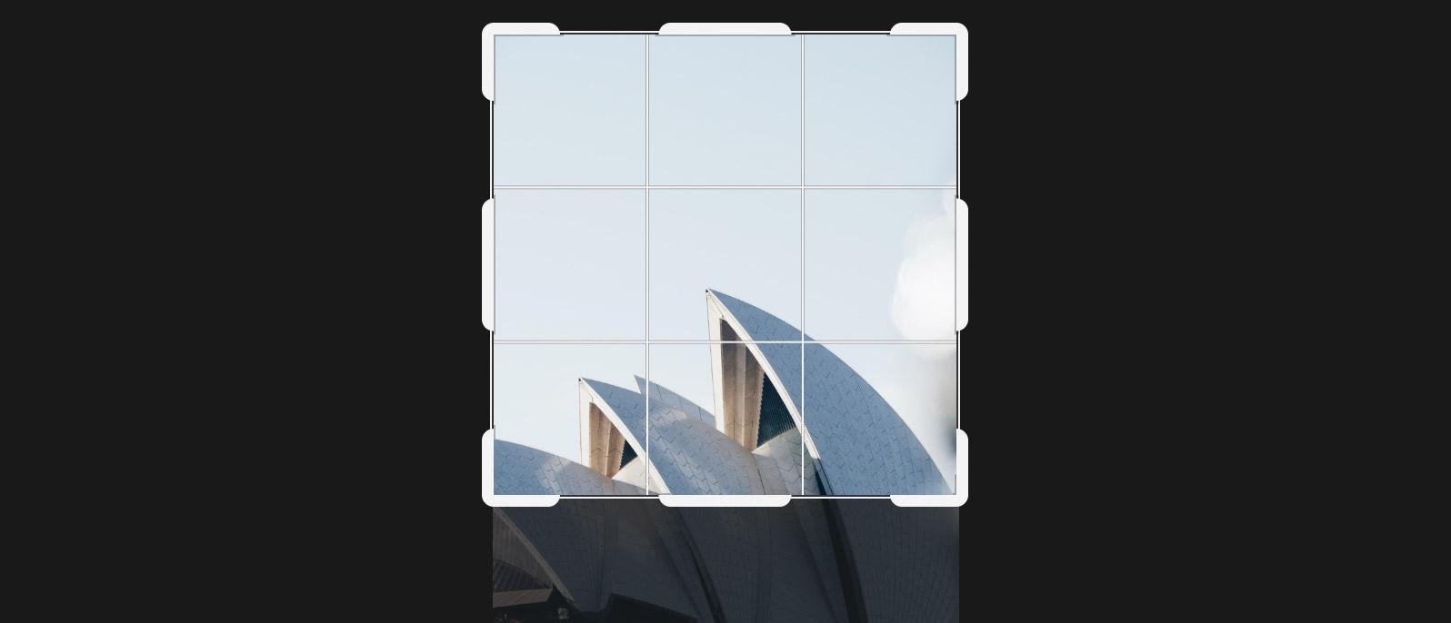 Обрезка изображения WordPress при создании размеров по верхнему краю