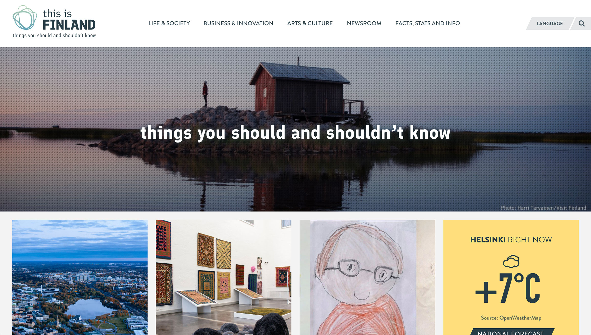Сайт Финляндии
