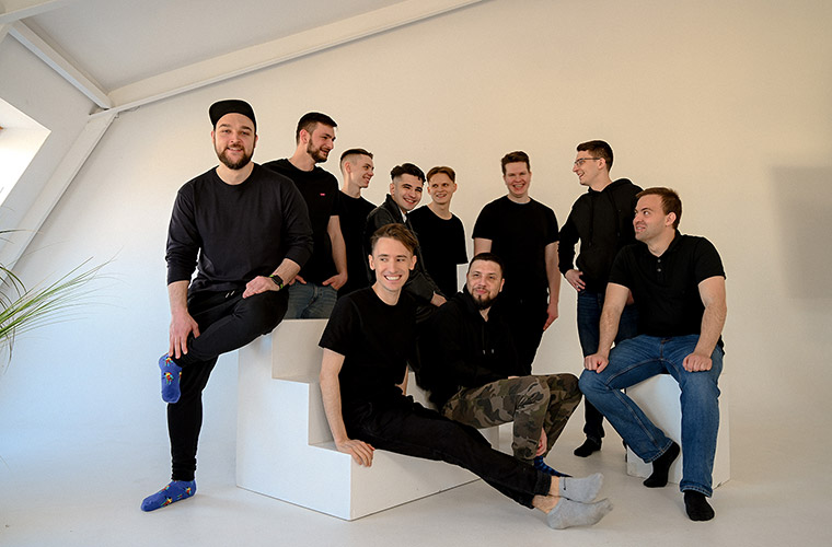 Студия Миши Рудрастых – фото команды